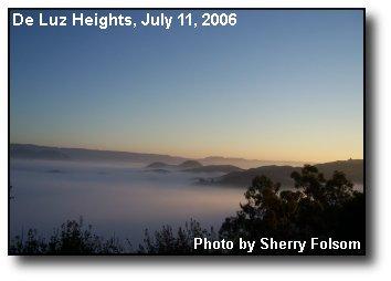Islands Fog