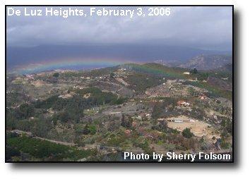 Ross Lake Rainbow