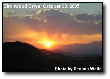 Canyon Hills Sunrise