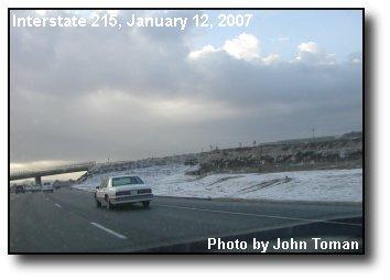 Freeway Snow