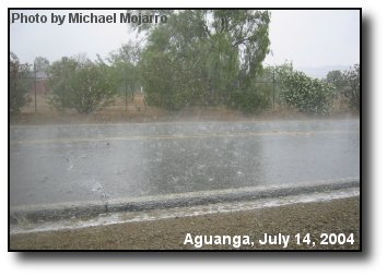 Aguanga Thundershower