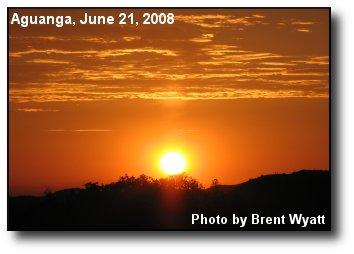 Aguaga Sunset