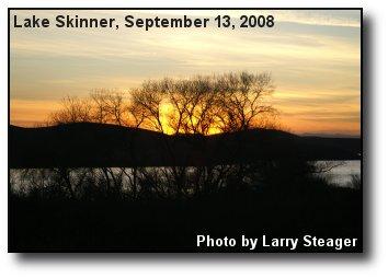 Lake Skinner Sunset