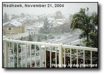 Redhawk Snow