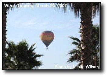 Rising Balloon