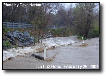 Sandia Creek Flooding