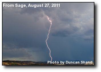 August Lightning