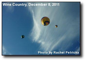 Balloons Against Sky