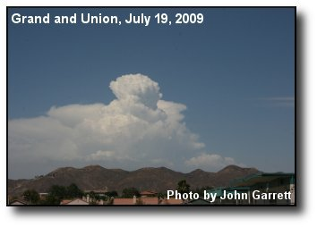 Monsoonal Updraft