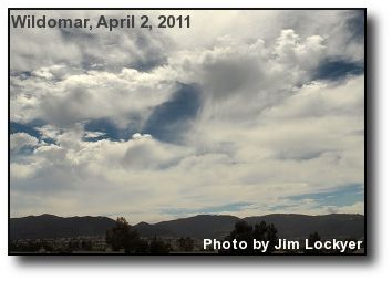 Virga Clouds